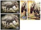 JURASSIC WORLD - Official Film POSTERS - Choice of Image & Size (Dinosaurs/Park)