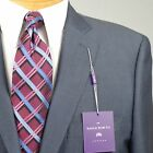46R SAVILE ROW Slate Blue SUIT SEPARATE  46 Regular Mens Suits - SS23