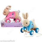 Beatrix Potter Peter Rabbit Flopsy Bunny Pull A Long Toy Wooden Baby Gift