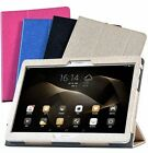 "Flip PU Leather Case Cover For 10.1"" Huawei MediaPad M2 M2-A01W/M/L+Protector"
