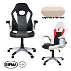 New PU Leather Executive Office Chair Tilt Swivel High Back Computer Desk Task