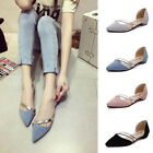 Fashion 2017 Women's Casual Metal Decor Pointed Toe Sandals Flats Shoes