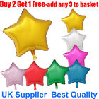 """18"""" Star Shape Foil Balloon For Party Wedding Birthday Float With Helium Balloon"""
