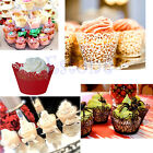 12pcs Hollow Out Clouds Pattern Cake Paper Wrapper Cupcake Supply Wedding Decor