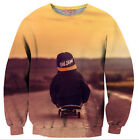 New Mens/Women Vintage hip hop skateboard 3D Print Sweatshirt Hoodies FW24