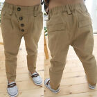New Baby Boys Kids Children Child Cotton Autumn Winter Casual Pants Trousers J61
