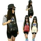 New Women's Multifunction PU Leather Handbag Shoulder Bag Backpack Korean Style