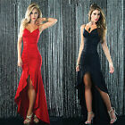 Women Sexy Backless Sleeveless Party Formal Bridesmaid Cocktail Dress Ballgown