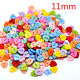 Top Quality Color Heart Resin Sewing Buttons Scrapbooking Carft Decorative 12mm
