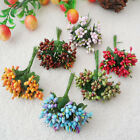 6 colors wholesale wreath material simulation pearl small berries Bouquets