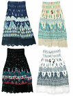 Girls Strapless Paisley Boob Tube Lace Hem Fashion Dress Skirt 3 to 14 Years
