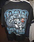 Carolina Panthers Black Design T-Shirt - New - Free Shipping