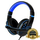 Купить for PS4 Xbox One Nintendo Switch PC Stereo 3.5mm Wired Gaming Headset Headphone