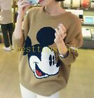 Hot Sale Mickey Womens Ladies Casual Student Sweater Cartoon Pullover Top Shirt