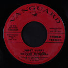 GROVER MITCHELL: What Hurts / Mono 45 (dj, tag stain/xol) rare Soul