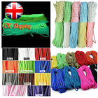 16-328FT Paracord Parachute Cord 7 Inner Strand Luminous Reflective Lanyard Rope