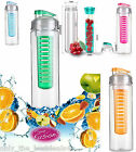 700ML Fruit Fusion InFuzer Infusing Infuser Water Bottle Sports Health Juice