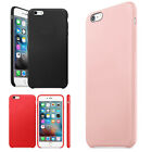 Soft Luxury Scrub Leather Back Cover Skin For iPhone 6S For iPhone 6S Plus Case