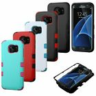 For Samsung Galaxy S7 Edge Natural TUFF Hybrid Hard Silicone Shockproof Case
