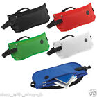 2 x DISCRETE MONEY TRAVEL BELTS BUM BAGS - PASSPORT WALLET WITH EARPHONE PORT