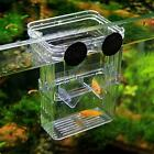 Aquarium Young Fish Breeding Hatchery Incubator Isolation Box Tank Shrimp T4Z3
