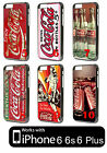 Coca Cola iPhone 6 7 8 Plus X XS XR PLASTIC Case Phone Cover Classic Logo Vtg $9.09  on eBay