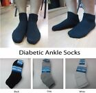 Diabetic Circulatory Cushioned Cotton Socks for Men & Women Ankle/Crew Socks