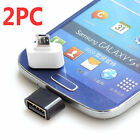 2x Micro USB OTG Adapter Converter For Android Tablet PC to Flash Mouse Keyboard