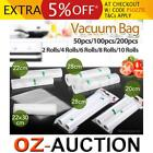 Vacuum Food Sealer Saver Seal Bag Storage Rolls Commercial Heat Grade