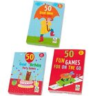 Paul Lamond Games - 50 Kids PARTY Games/Ideas (Birthday/On The Go/Rainy Days)