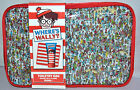 TOILETRY/WASHBAG. WHERE'S WALLY. 150ML SHOWERGEL & FLANNEL. IDEAL GIFT. BRAND NE