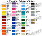 oracal 631 - Silhouette Cameo Oracal 631 Matte Removable Graphic Vinyl Film Sheets Roll