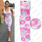 2016 Hot Women Fashion Floral Sexy Casual Summer Beach Sleeveless Maxi Dresses S
