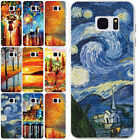 8 Skin Vintage Painting Pattern Ultra Slim Soft Case Cover For Samsung Galaxy S7