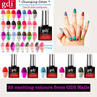 Hot UV Colour Changing Gel Nail Polish Manicure & Pedicure By gdi Nails UK