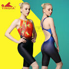 YINGFA Womens Girls Racing Sharkskin Professional Swimsuit 615  S M L XL XXL