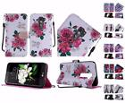 For LG K7 Tribute 5 LS675 Escape 3 New Design PU Leather Flip Wallet Cover Case
