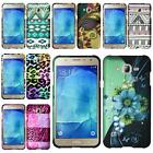For Samsung Galaxy J7 Hard Plastic Design Snap on Cover Case