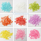 100PCS Heart Shape Resin Buttons Scrapbooking Sewing DIY Craft Lots Color 10MM