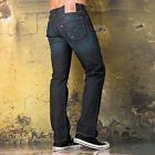 Mens Levis 504 Regular Straight Fit Olmstead Jeans In Denim From Get The Label