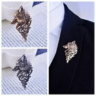 New Fashion Elegant Domineering Wolf totem Brooch Pin Christmas Gift Suit Badge