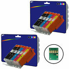Any 10 non-OEM C570/1 Ink for Canon Pixma MG5750 MG5751 MG5752 MG5753