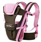 Breathable Ergonomic Infant Baby Carrier Sling Adjustable Rider Backpack Wrap