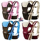Kyпить Newborn Baby Carrier Sling Wrap Backpack Front Back Chest Ergonomic 4 Position на еВаy.соm