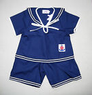 BABY / BOY's SAILOR OUTFIT, Dark Navy Blue, Wedding, Christening, Ages 0-6 Yrs