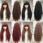 New Fashion Womens Perm Long Curly Wavy Wigs Lolita Anime Cosplay Party Wig
