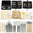 Clay Sculpting Set Wax Carving Pottery Tools Shapers Polymer Modeling Ceramic image