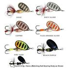 SAVAGE GEAR ROTEX SPINNER TROUT SALMON PIKE LURES MEPPS CHOOSE COLOUR & SIZE
