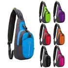 Durable Chest Bag Outdoor Cyling Travel Trekking Shoulder Bag Sling Backpack New