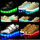 Stylish LED Light Luminous Kids Unisex Sportswear Sneaker Casual Shoes New